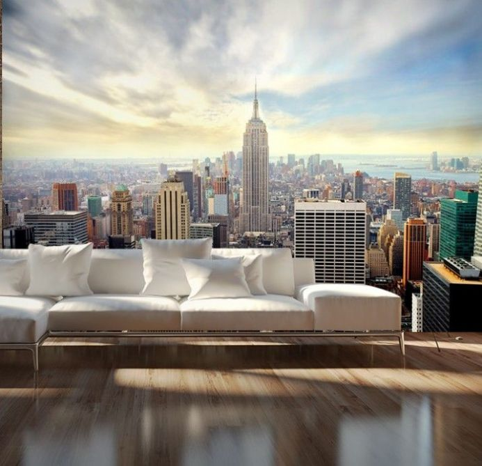 New York skyline wall murals | Homewallmurals.co.uk